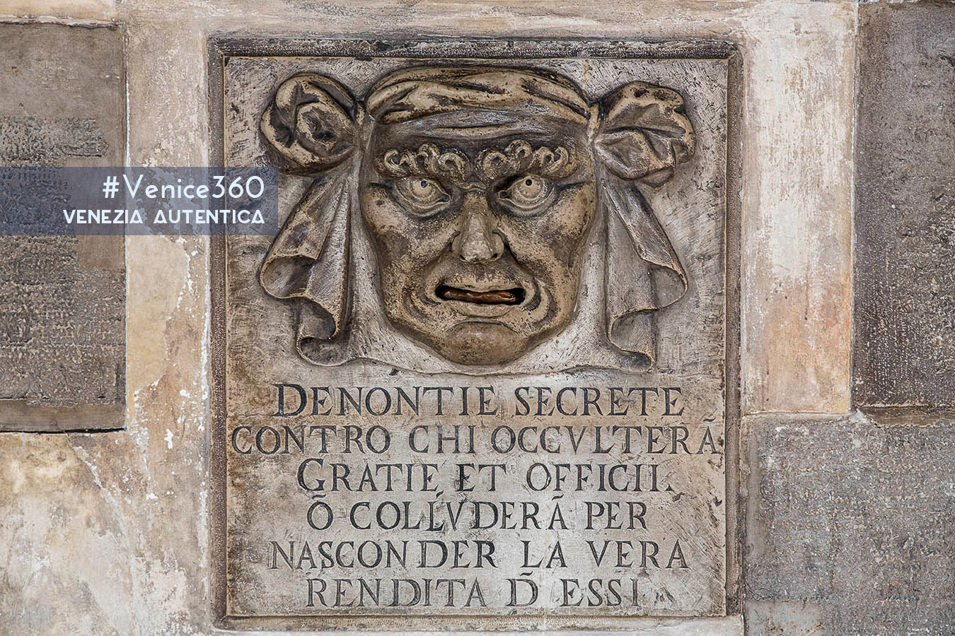 "The ""Boche de Leon"" in Venice were letter boxes for anonymous complaint."