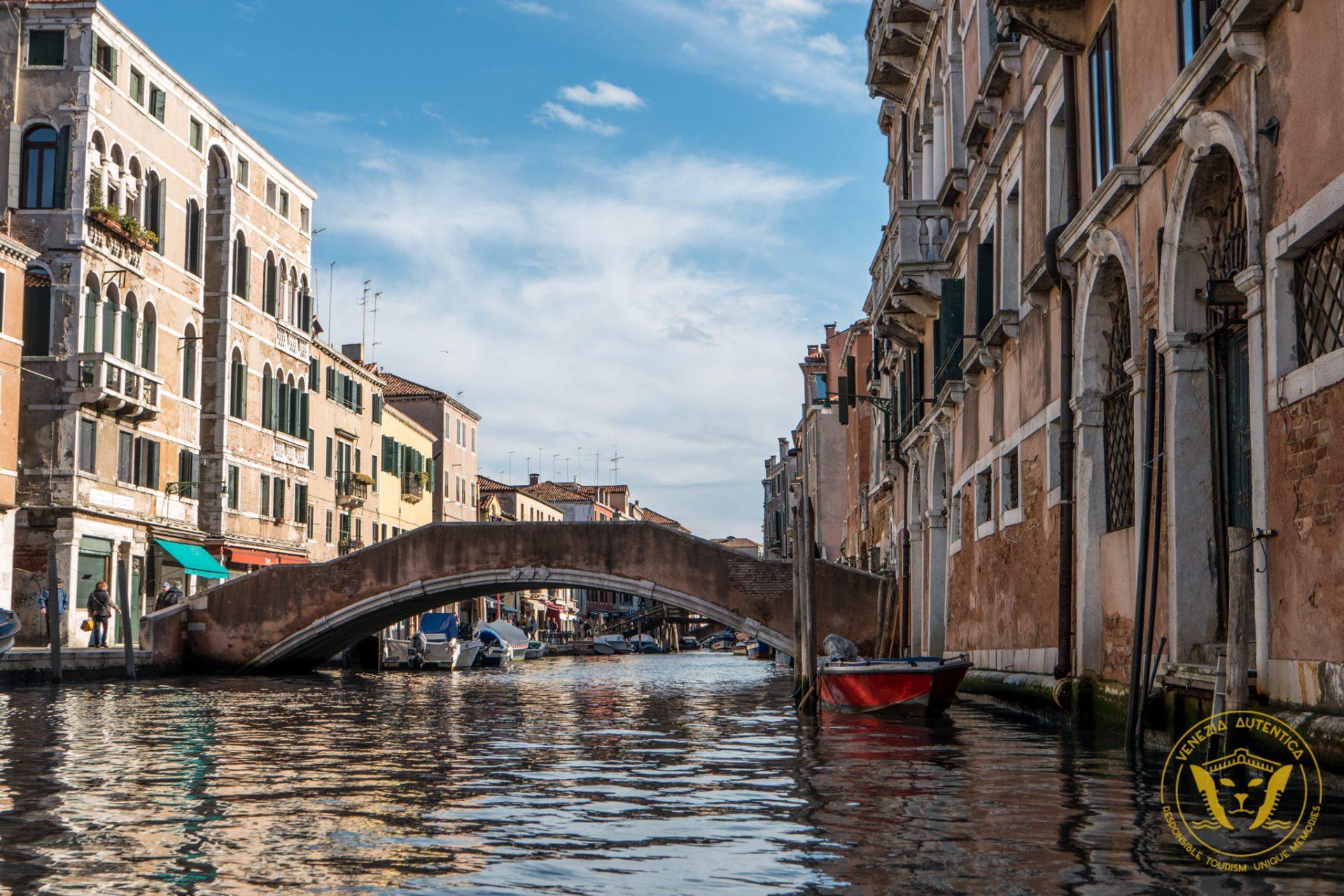 One of the 392 bridges in Venice