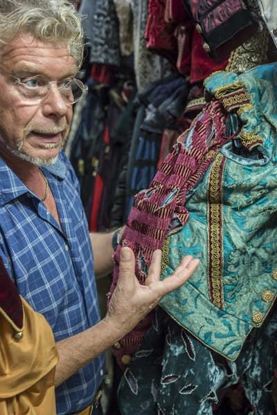 Nicolao, Costumes Taylor - Venezia Autentica | Discover and Support the Authentic Venice - You've seen Nicolao's hand made productions countless times: many of the biggest Theatres and Movie productions, rely on Nicolao's costumes.