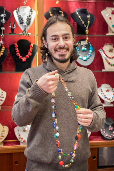 "Dario Bernadinelli, Jewellery designer - Venezia Autentica | Discover and Support the Authentic Venice - With the desire to offer unique hand made glass jewelles, the Belardinelli family founded ""Rialto 79"", in 1986. Since its origins,..."