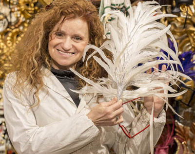 Marilisa Dal Cason, Mask Maker - Venezia Autentica | Discover and Support the Authentic Venice - You've seen Nicolao's hand made productions countless times: many of the biggest Theatres and Movie productions, rely on Nicolao's costumes.