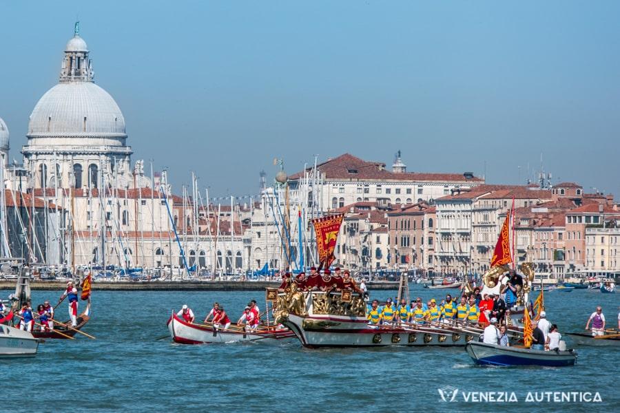 Festa della Sensa Parade in Venice.