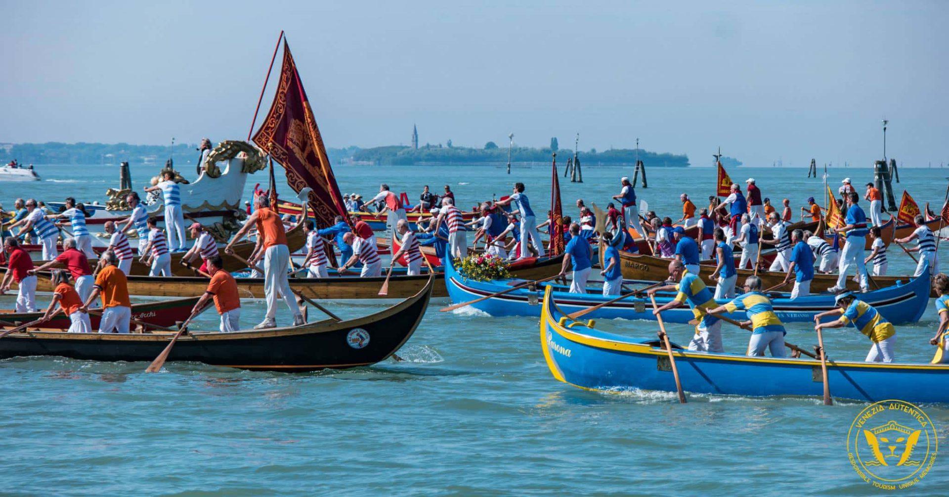 Parade during the Festa della Sensa in Venice, Italy