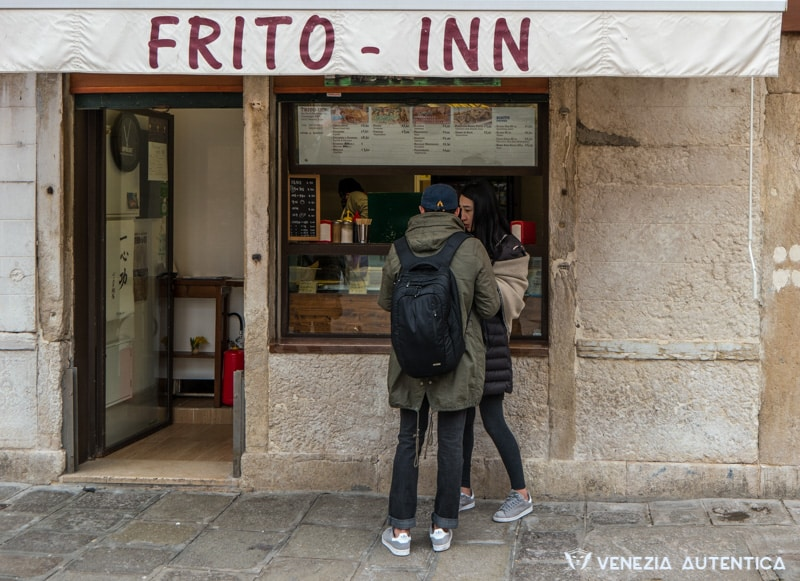 Frito Inn in Venice is simply the best take away frying shop in town.