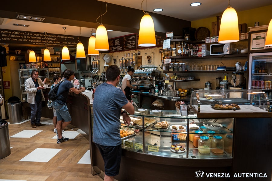 "The ""Caffè del Doge"" in Venice is a favourite of the locals for its quick service and excellent coffee."