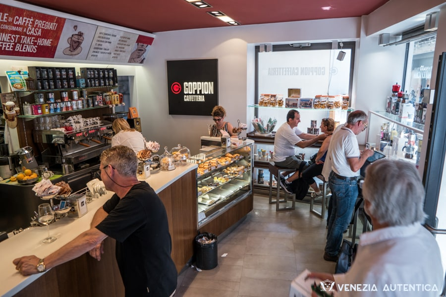 "The family run ""Caffetteria Goppion Rialto"" in Venice is much appreciated by the locals for the good quality and the friendly service."