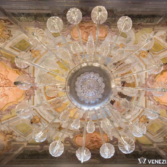 Murano Glass Chamdelier at the Museum of Glass in Murano