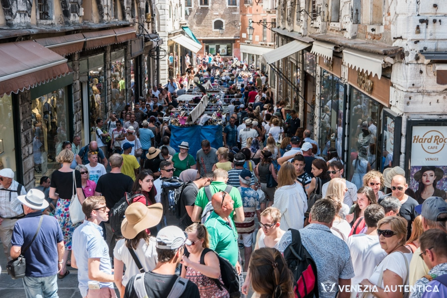 Mass tourism is jamming the city completely, and diminishing the quality of the stay for responsible tourists, as well as the quality of life for people living in Venice.