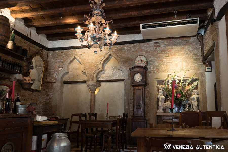 "The ""Osteria alla Bifora"" in Venice in Campo Santa Margherita offers good cichetti and wines in a really beautiful space."