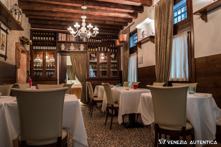 "The Restaurant ""Osteria Santa Marina"" in Venice fuses together cuisine, art and expertise, for an amazing culinary experience."