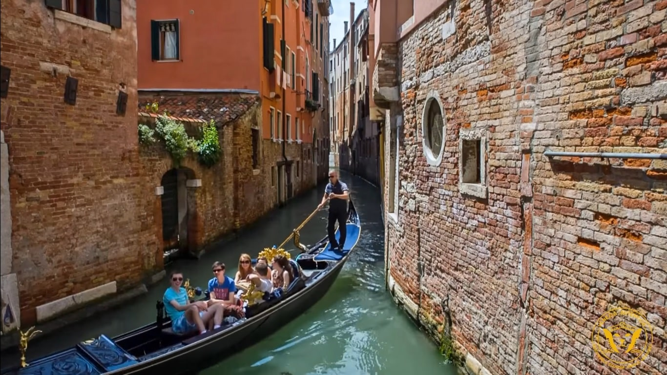 Video of a walk in Venice, Italy