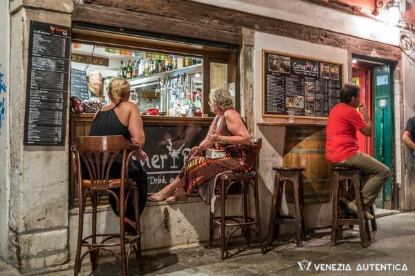 Corner Pub in Venice, in the district of Dorsoduro, makes great sandwiches.