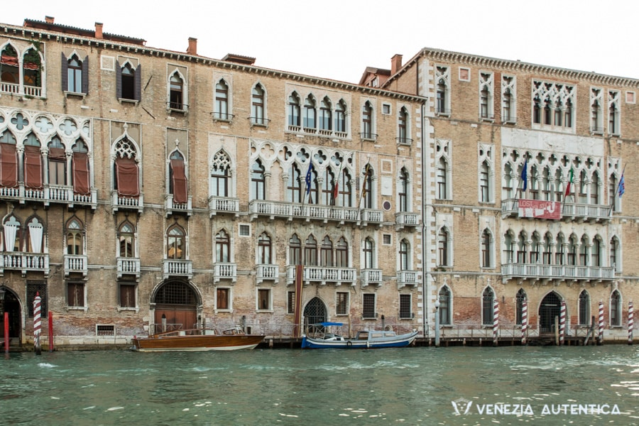 Palazzi on the Grand Canal in Venice, Italy