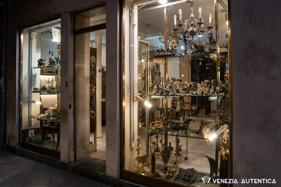 Valese Artistic Foundry Shop in the district of San Marco in Venice, Italy