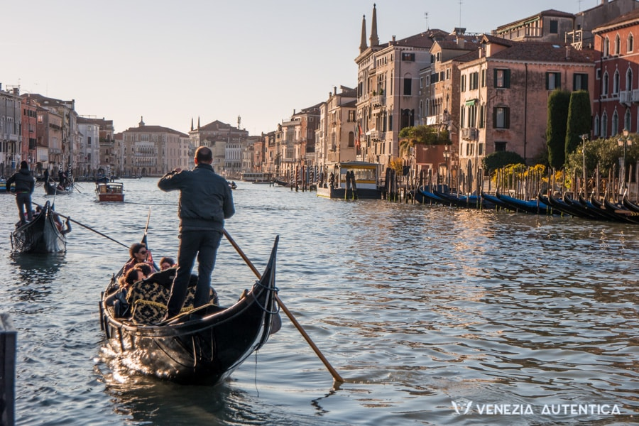 "A gondola on the Grand Canal is one of the ""classics"" that answer the question ""What is Venice?"""
