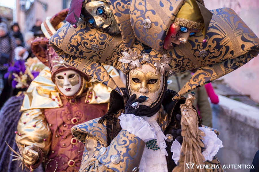 Admire the masks and costumes of the most famous Venetian festival, the Venice Carnival - Venezia Autentica | Discover and Support the Authentic Venice -