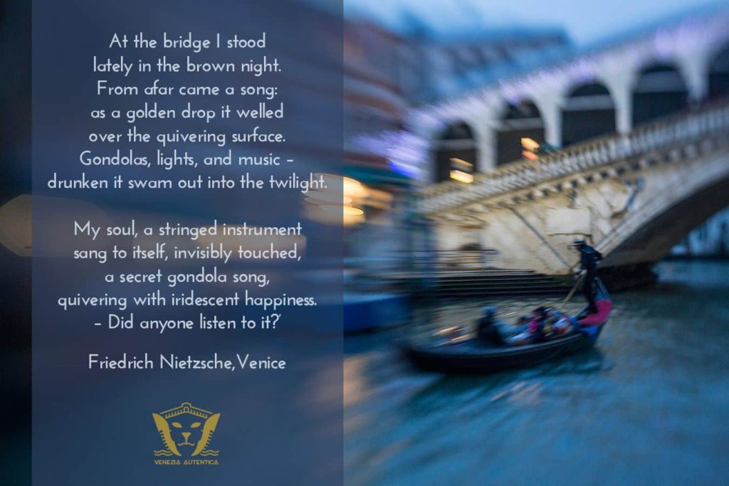 Quote About Venice from Friedrich Nietzsche