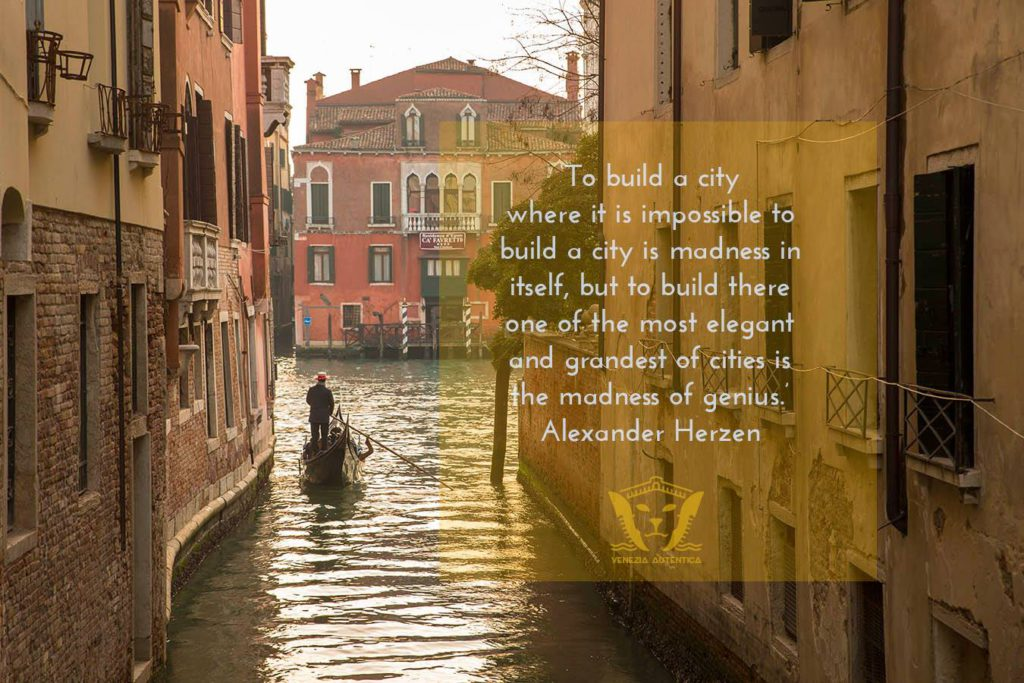 Quote About Venice by Herzen