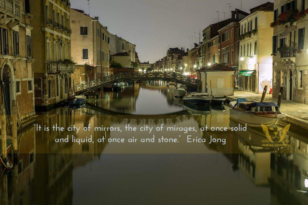 Quote About Venice by Erica Jong