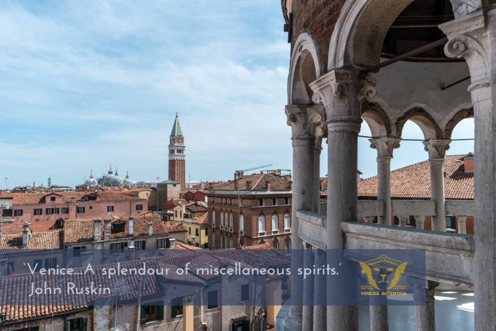 Quote about Venice by John Ruskin