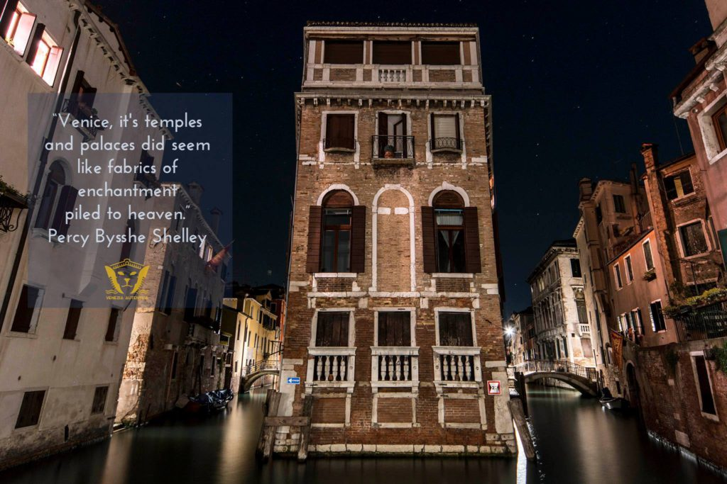Quote about Venice by Percy Bysshe Shelley