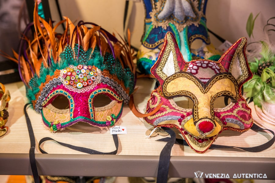 Rugadoro Patchwork Masks - Venezia Autentica | Discover and Support the Authentic Venice -