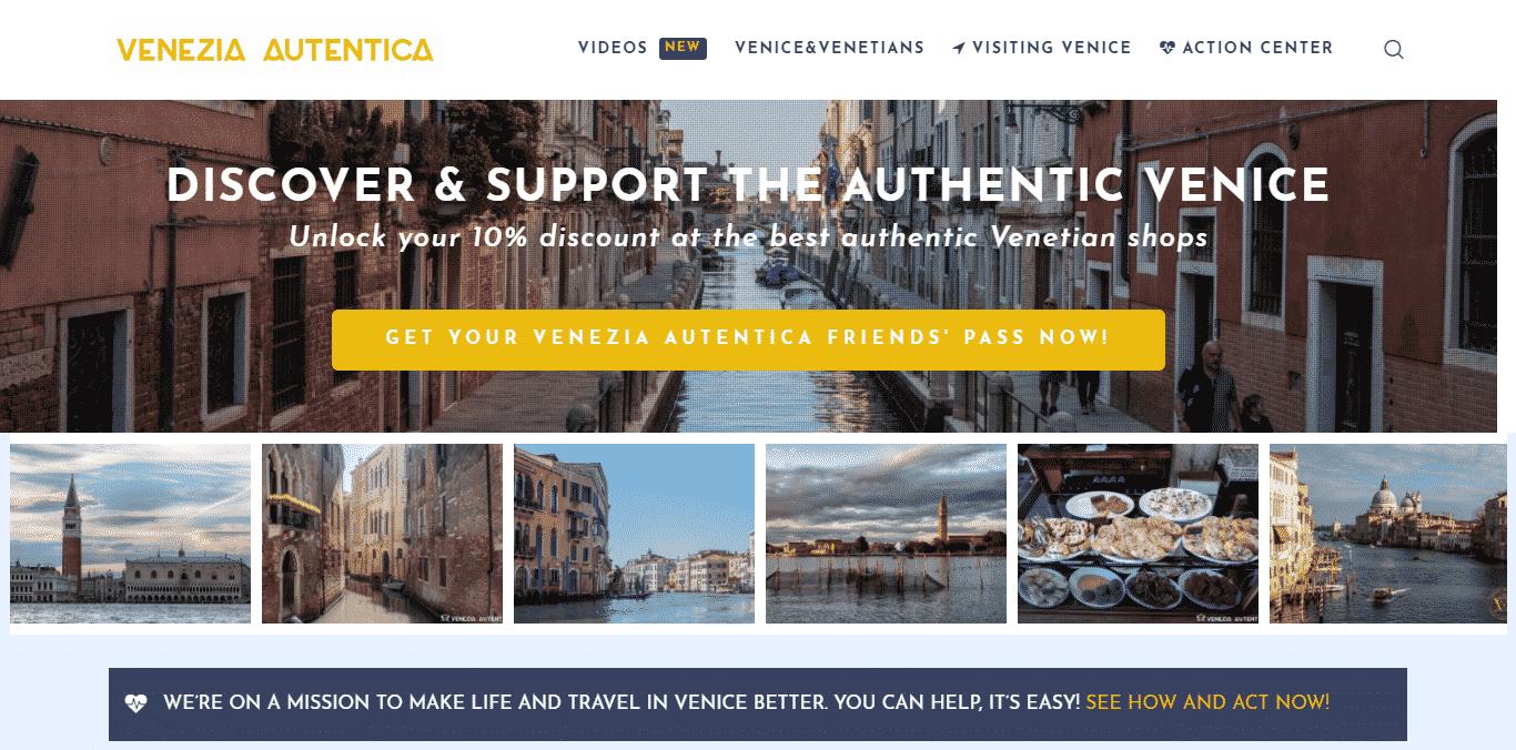 Venezia Autentica's website, veneziaautentica.com, turns 1 today - Venezia Autentica | Discover and Support the Authentic Venice - Our website veneziaautentica.com, launched 1 year agoCiao a tutti! Today is a special day for us as it is a day of celebration of this magnificent adventure