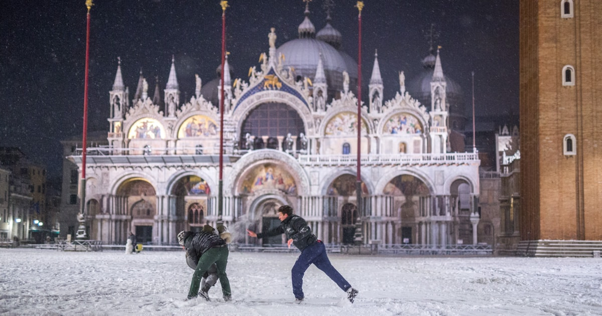 IN PICTURES: The stunning beauty of Venice covered in snow - Snow in Venice - Venezia Autentica | Discover and Support the Authentic Venice -