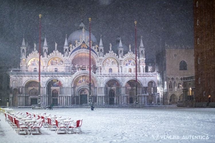 IN PICTURES: The stunning beauty of Venice covered in snow - Venezia Autentica | Discover and Support the Authentic Venice - Venice in the snow is just magic