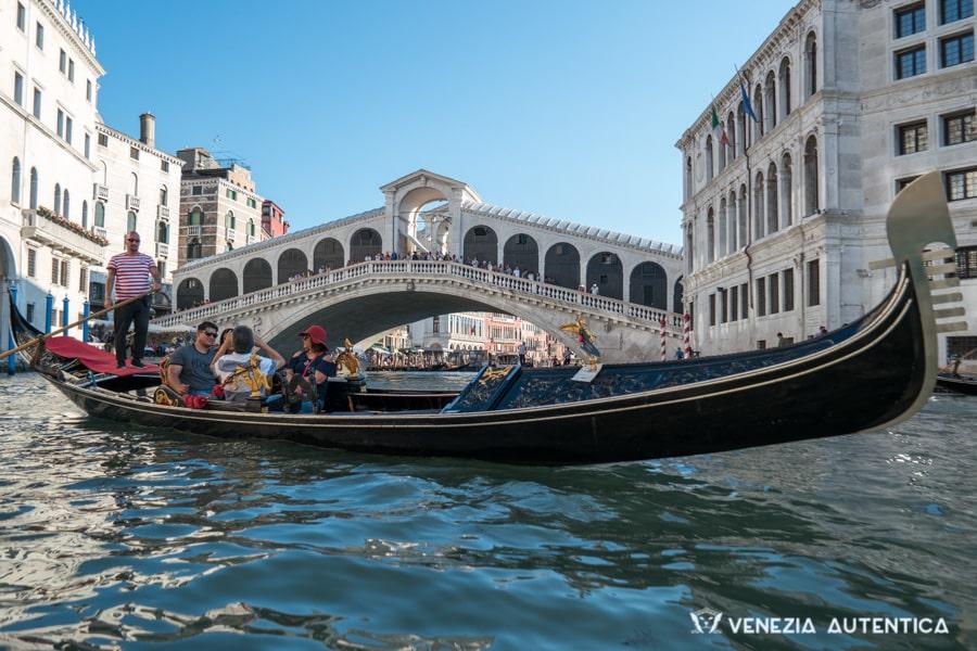 Gondola tour in Venice, Italy