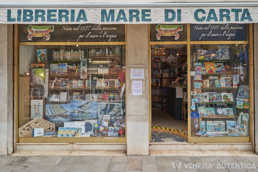 Mare di Carta Libreria - Venezia Autentica | Discover and Support the Authentic Venice -