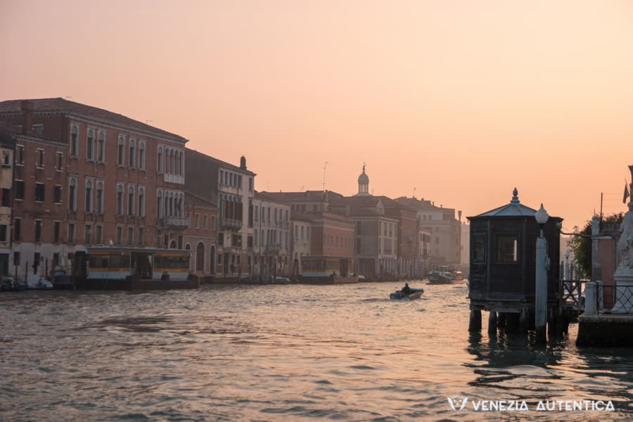 Beautiful Autumn evening in Venice