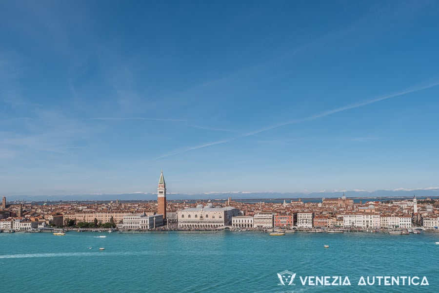 Venice seen from San Giorgio bell tower