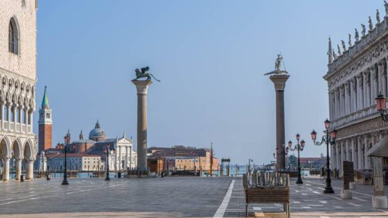 Venice after Coronavirus - coronavirus - Venezia Autentica | Discover and Support the Authentic Venice - The European Union set a threshold above which the amount of particles in the air is considered damaging for human health. This limit...