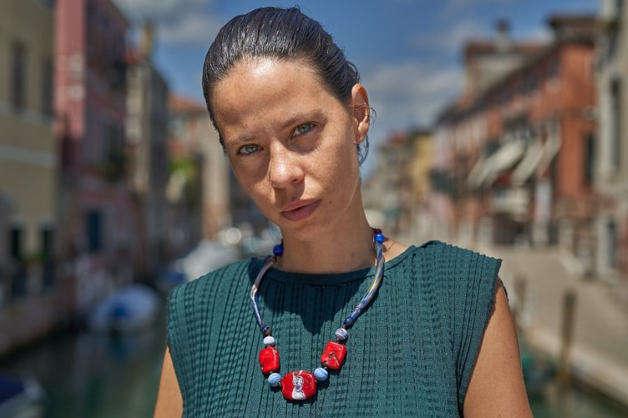 """""""Red Hot Candy"""" Necklace Shop by Venezia Autentica - Shop by Venezia Autentica - Stunning Murano Glass necklace, entirely handcrafted in Venice. Wear this necklace with its intense colors and daring shapes with pride, and steal the show!"""
